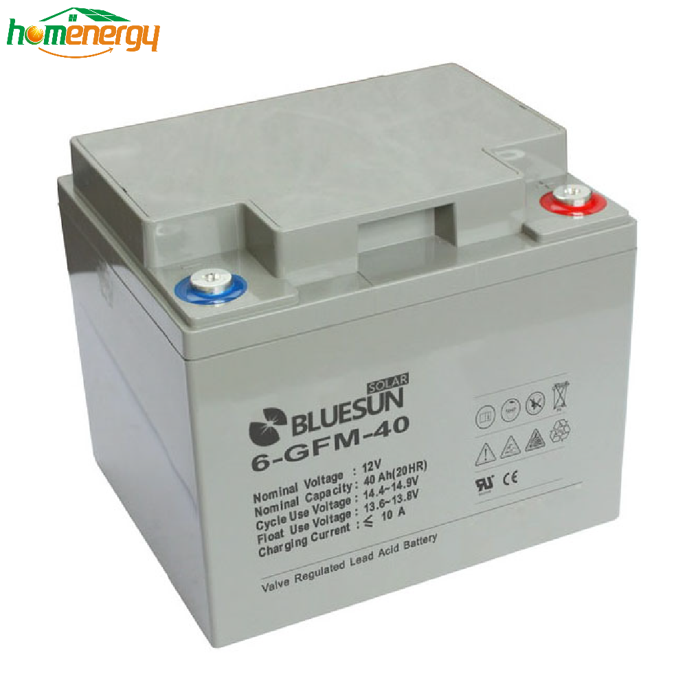 Bluesun High Quality AGM Solar Battery 12V 80AH For Solar System Home Power