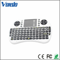 2016 most Popular 2.4Ghz Mini Wireless keyboard i8 Air Mouse gaming keyboard