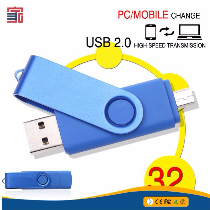 Custom micro oem odm high-speed transmission brand best usb flash drive for smart phone and pc