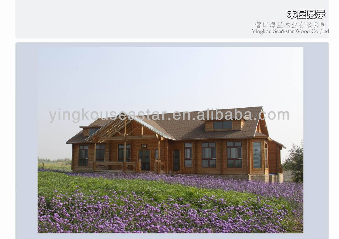 hot sale prefab timber house