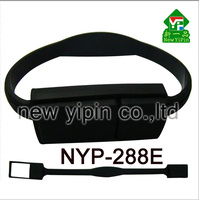 New Yipin Silicone Manufacture Promotional gifts High Speed Drives Silicone USB Bracelet