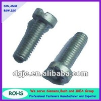 ISO1207-2011 Carbon steel slotted cheese head screws