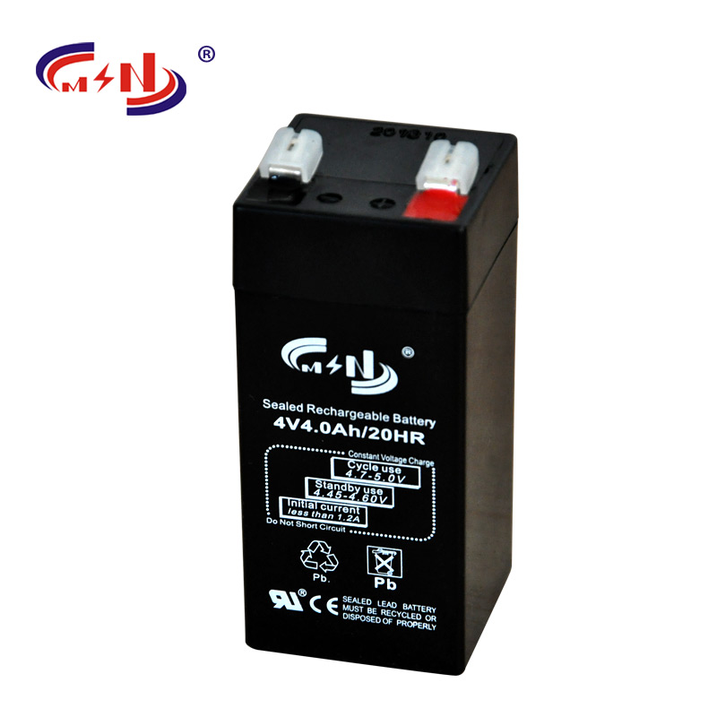 small rechargeable battery 4v 2ah lead acid battery