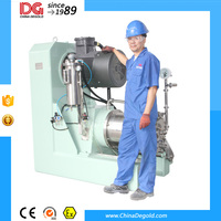 DEGOLD wet grinding machine nano pin type horizontal bead mill exporters