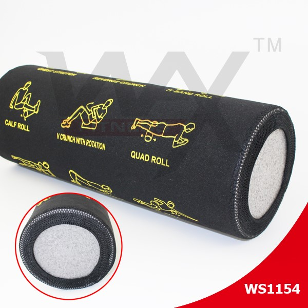 2016 New high density EPE yoga foam roller with cover