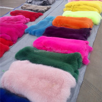 Dyed Fox Pelts Fur Wholesale