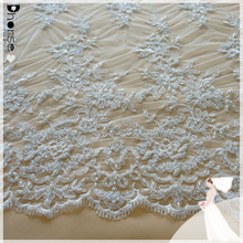 2015 dhorse bridal lace/DH-BF780 wholesale embroidery lace curtain fabrice/100% Eco-friendly latest embroidery designs