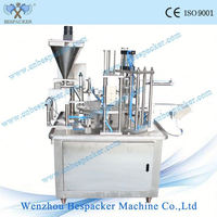 Nescafe coffee rotary type filling and sealing machine