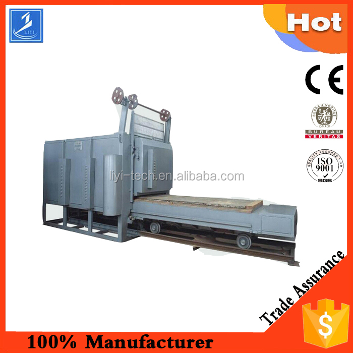 Trolley furnace/industrial small pottery ceramic kiln/bottom car driving oven