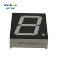 Top quality 1.2 inch pure green middle size 1 bit 7 segment led digital display