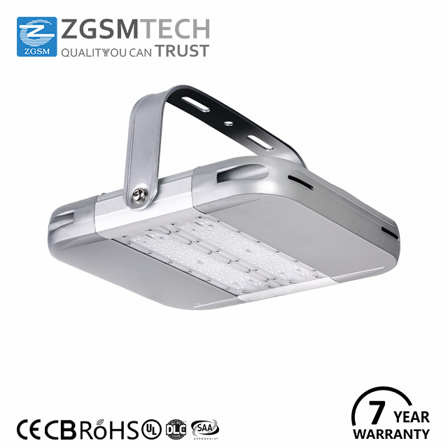 7 years warranty 80w led low bay light fixtures with super bright led