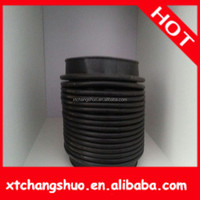 Motorcycle parts Truck Dust Cover rubber leg covers manufacturer rubber slicon corrugated pipe/rubber silicon bellows