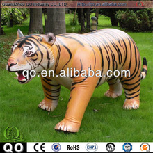 Giant inflatable tiger for kids entertainment and advertising