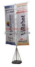 Outdoor Advertising Display Flying Flag Banner