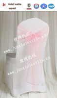 Pink Organza Sashes made of professional China factory