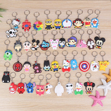Wholesale Creative Lovely PVC Cartoon Phone Pendants Lovely Silicon Cartoon Hot Sale Promotion Gift