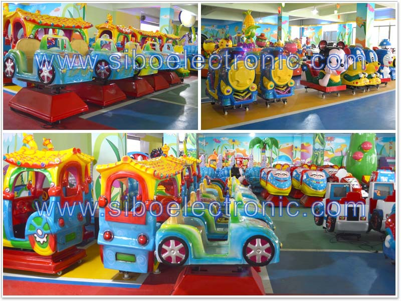 GM5814 FRP coin operated rocking amusement kiddie ride machine