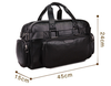 Business Men's Travel Bags Large High Quality Waterproof Leather Overnight Holdall Sport Traveling Weekend Duffle Bag