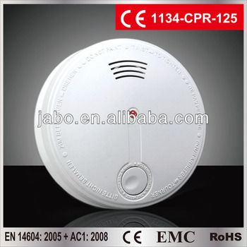 intelligent battery powered smoke alarm fire alarm EN14604 ANPI made in China
