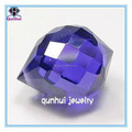 irregular shaped D-blue high quality cubic zirconia stone