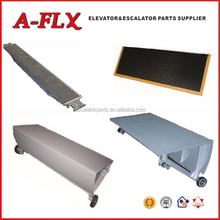 Stainless Steel Escalator Step , Aluminum Escalator Step 600mm/800mm/1000mm