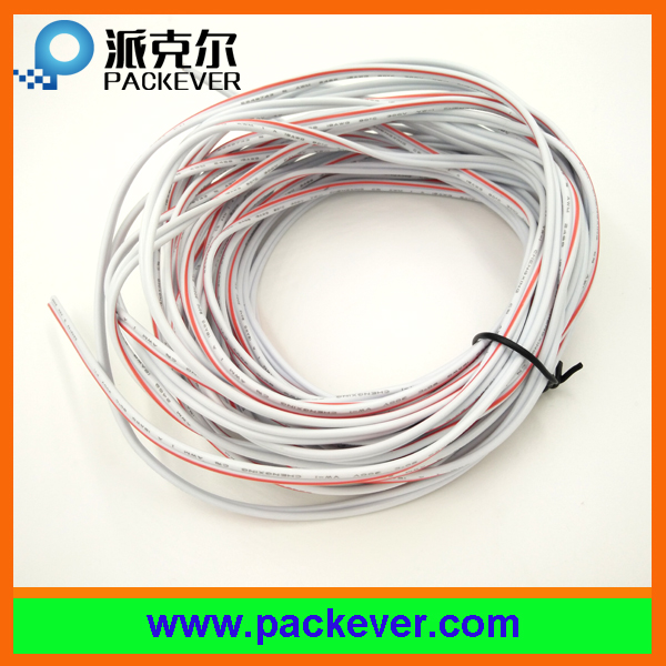 UL nice quality 18awg 2pin 2 core white and red cable wire; 18ga cable; 18awg leads
