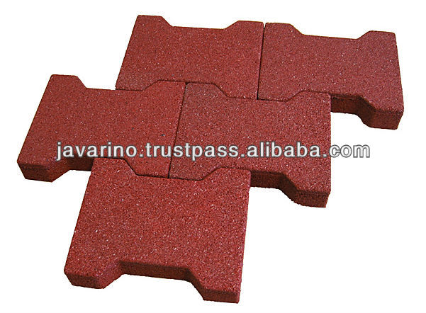 Best Quality Widely Use Durable Rubber Paving Block