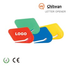 wholesale promotional gift plastic colorful key chain for China bank gift