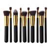 Professional Make Up Brushes 10 PCS Makeup Brushes Classic Matte Black Makeup Brush Set Beauty Makeup Tools & Accessories