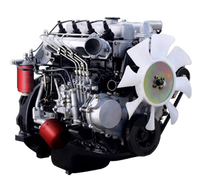 Brand new electric start 96hp isuzu 4bd1 engine assembly isuzu