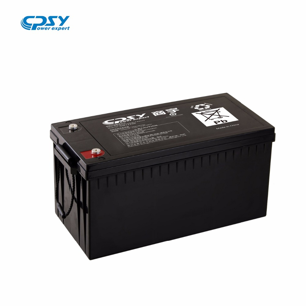 12V Deep Cycle GEL BATTERY Solar Panel GEL Battery 65-200Ah Power Storage Battery for Solar System