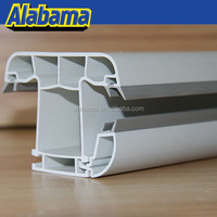 2015 extrusion 88mm white sliding pvc profiles manufacturers in india