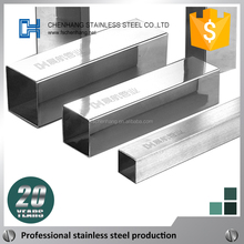 Various style hollow stainless steel tube, 1x1 metal tubing