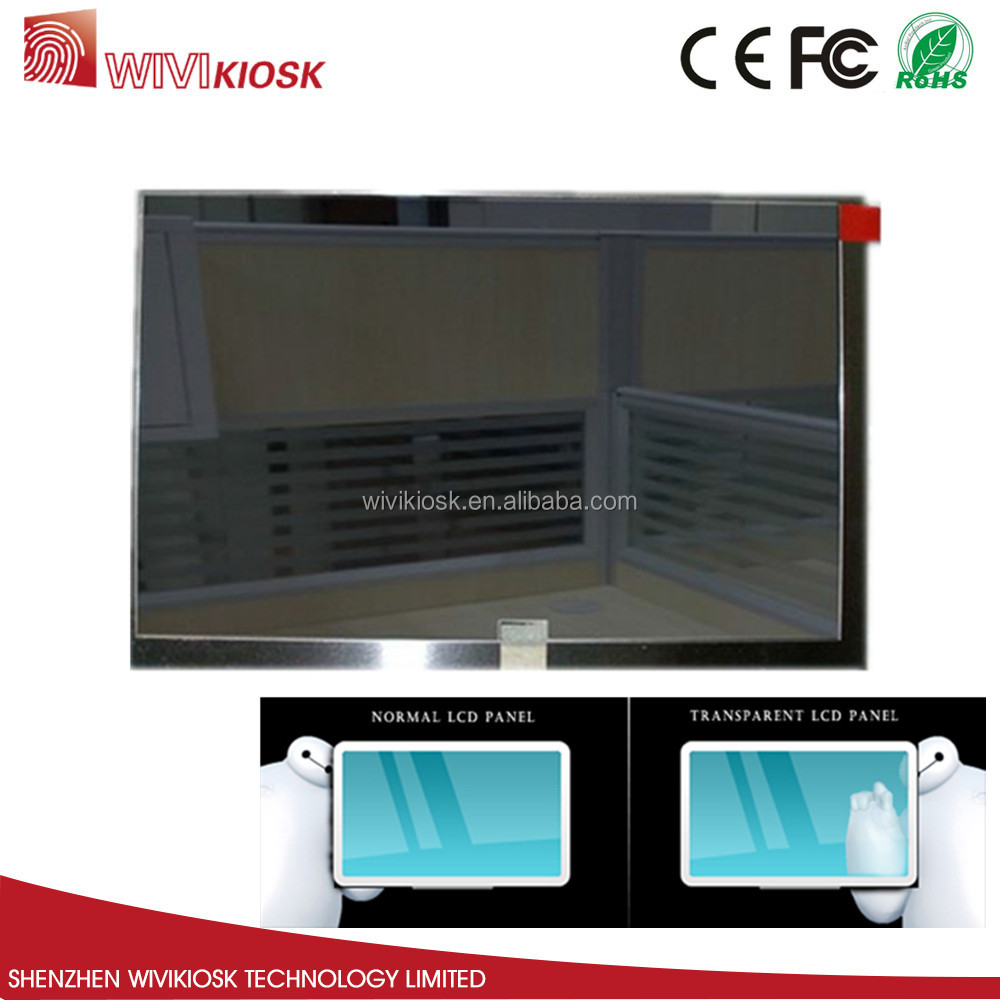 "32"" transparent lcd parts,see through lcd display,pantalla transparente lcd"