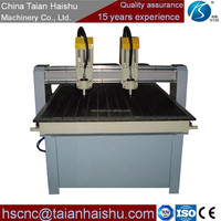 Easily operated Cnc Carving machine DH-1313 Cnc wood lathe Cheap Double wood engraving machine