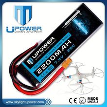 Upower 2 cell 25c lipo battery with deans/tamiya connector 25c lipo charger for rc helicopter