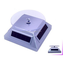 Jewelry electric rotating solar display turntable