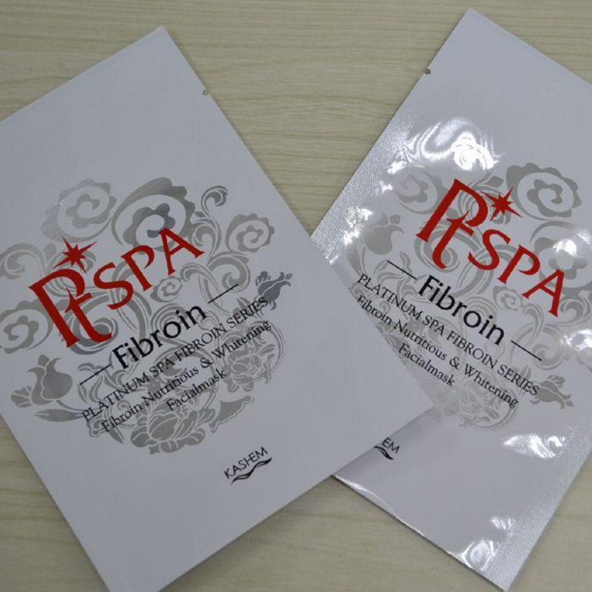 China Supplier PET+AL+PA+PE Aluminum Foil Material Mask Pack With Printing
