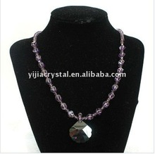 european style Jewlery Necklaces With Big Crystal