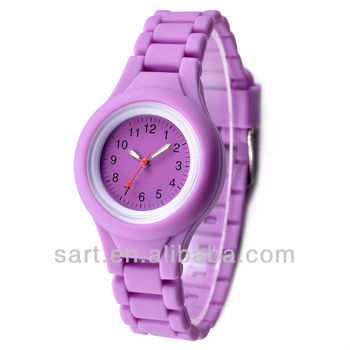 men and women 2015 hottest silicone watch oem logo good quality watch
