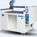 all-purpose adhesive brushing machine