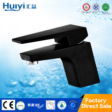 High end luxury black color finished bathroom health tap faucet HY-50006