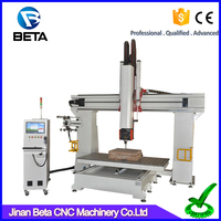 Hot sale!! Cheap price 1325 size 5 axis woodworking machine cnc carving milling router for aluminum wood