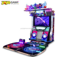 Play songs 2 players coin operated arcade dance <strong>game</strong> machine music simulator video <strong>game</strong> for amusement park