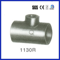 names sanitary malleable pipe and pipe fittings price-reducing tees 1130R