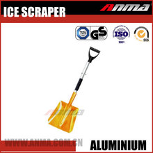 Universal high quality household aluminum handle stainless steel heated snow shovel