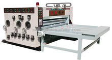 Economic flexo water ink printing slotting machine