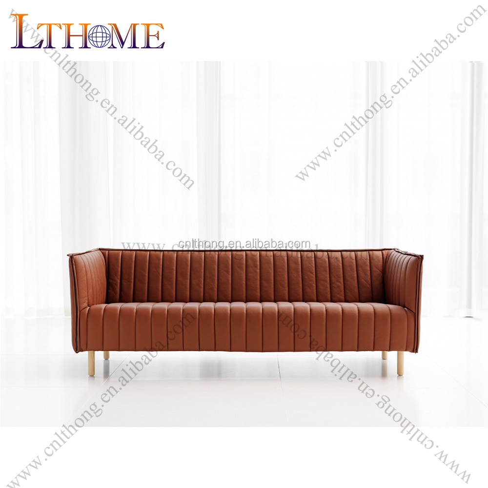 S37-3 mid century furniture kvilt woven fabric <strong>sofa</strong>