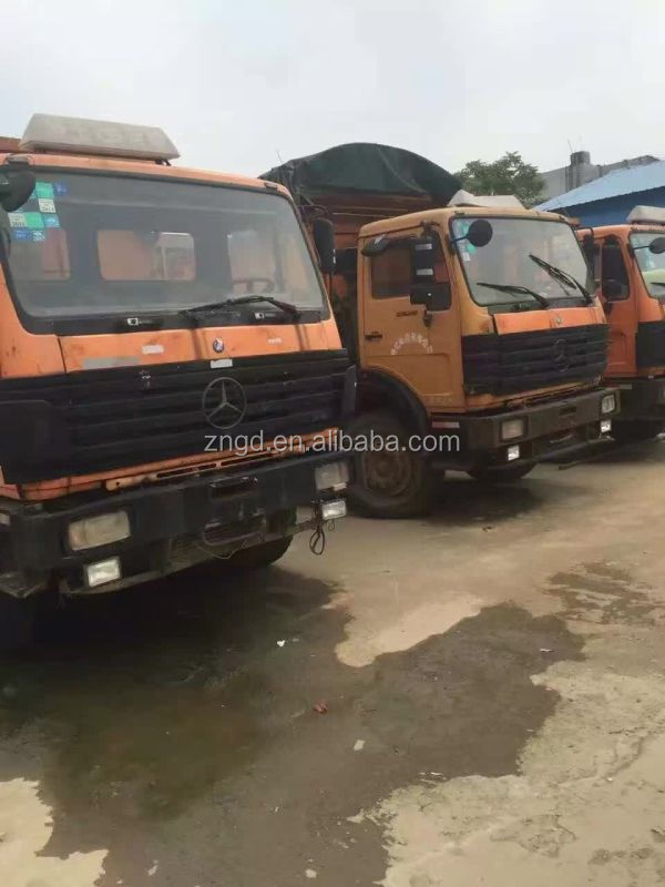 Germany made Beiben 25t dump truck used condition Benz 25t dump truck second hand 8*2 tipper beiben 25t dump truck for sale