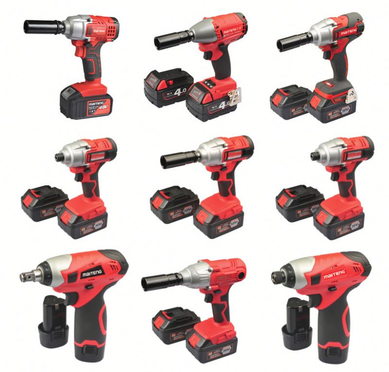 electric hammer drill set ningbo cordless impact wrench battery li-ion electric power tools free sample hand machine